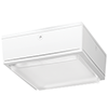 RAB VANLED10NW VANDALPROOF CANOPY 10W NEUTRAL LED 120-277V W/ DROP LENS WHITE